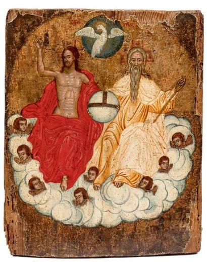 La Sainte Trinité du Nouveau Testament. Grèce...