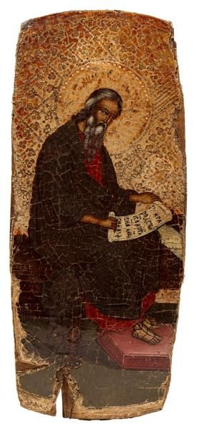 Mathieu l'évangéliste. Russie, 1700.  Icône...