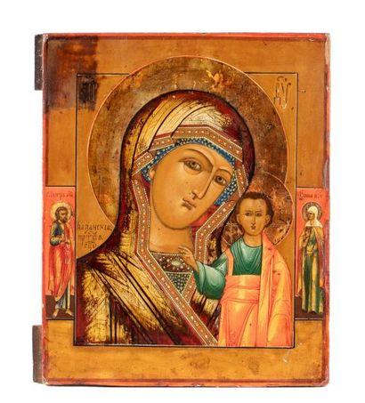 Icône de la Vierge de Kazan.  Icône protectrice...