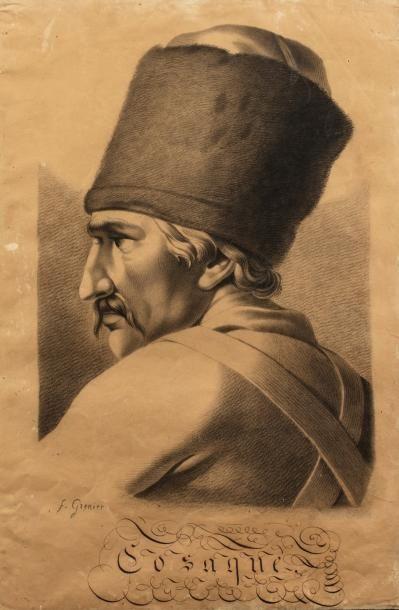 GRENIER François (1793-1867).  Portrait de...