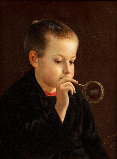 NESSLER Vladimir, école russe du XIXe siècle....