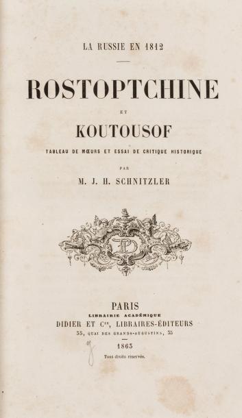 HISTOIRE DE LA RUSSIE Lot de 3 livres : La...