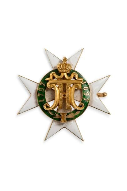 Insigne du centenaire du département des...