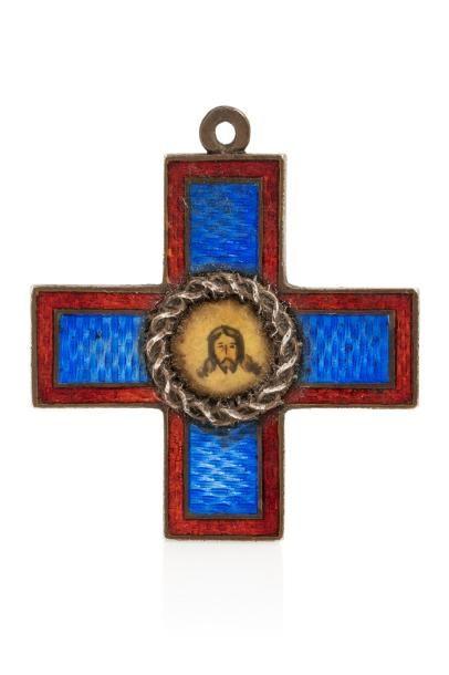 Insigne de la croix fraternelle de la société...