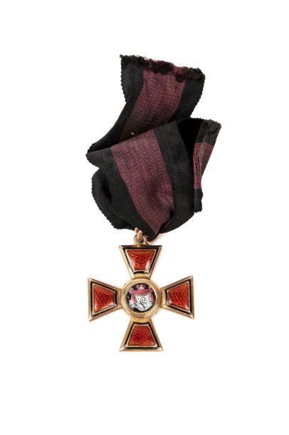 Russie Ordre de Saint Wladimir. IV classe...