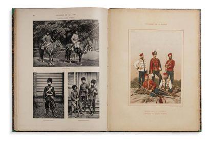 DEJONGH FRERES. L'ARMEE RUSSE. 1895.  Nombreuses...