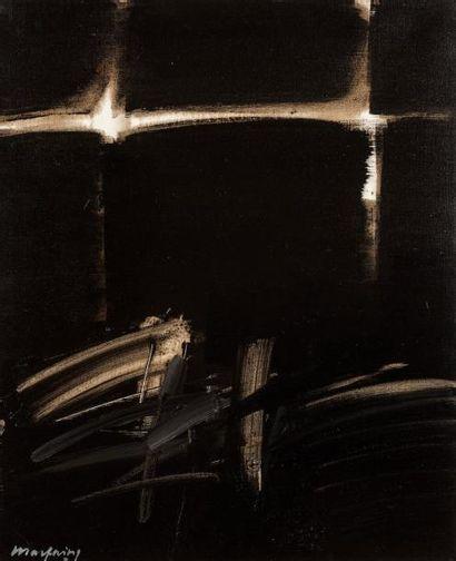 André MARFAING (1925-1987)  Sans titre, 1973...