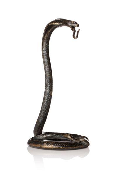 Edgar BRANDT (1880 - 1960)  Porte montre...