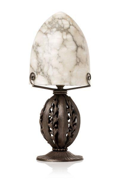 Laszlo KATONA (1850 - 1933)  Lampe de table...