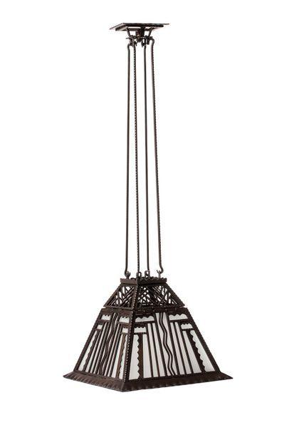 Paul KISS (1895 - 1962)  Lanterne de forme...