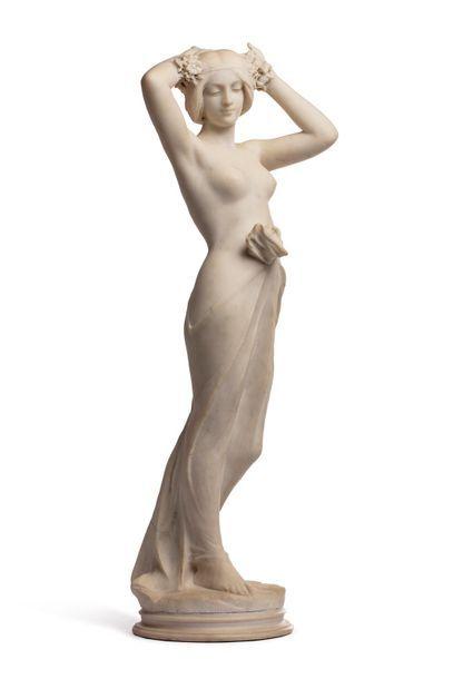 Travail 1900   Sculpture à taille directe...