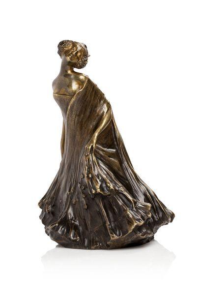 Léo LAPORTE-BLAIRSY (1867 - 1923)  Rare sculpture...