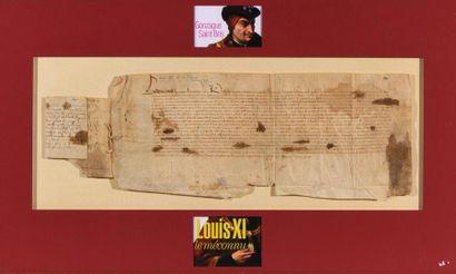 [LOUIS XI (1423-1483, Roi de France)]. Pièce...