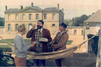 Le château de Villette  Tournage du film...