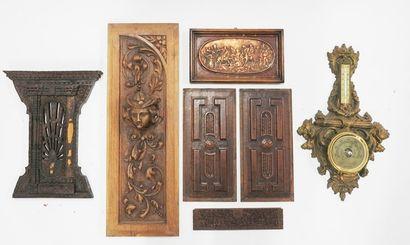 Lot en bois et composition comprenant des...