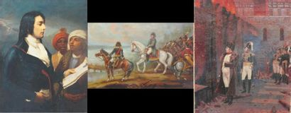 Lot comprenant :   - Jean DAPRAI, Napoléon...