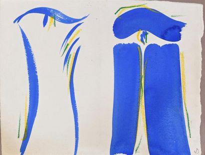 Olivier DEBRE (Paris 1920 – 1999)  Composition...