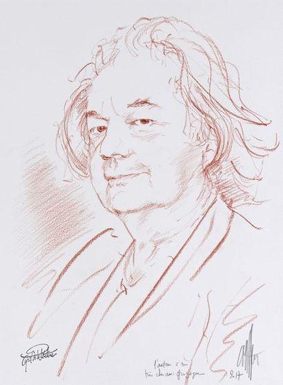 Cyril de LA PATELLIERE,  Portrait de Gonzague...