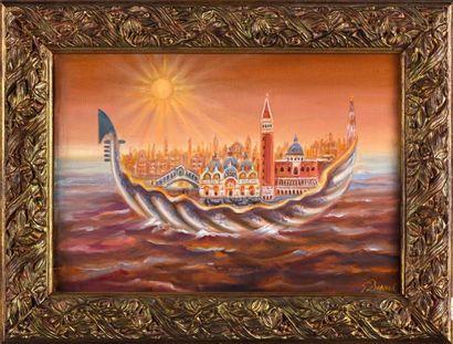 Jean DAPRAI (Né en 1929)  Venise sauvé des...