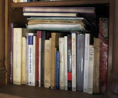 "Lot de grands carnets manuscrits autographes de GSB dont manuscrit ""L'enfant et..."