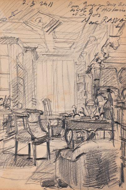 Marc RASSIAT (Né en 1944)  Bureau Lafayette...
