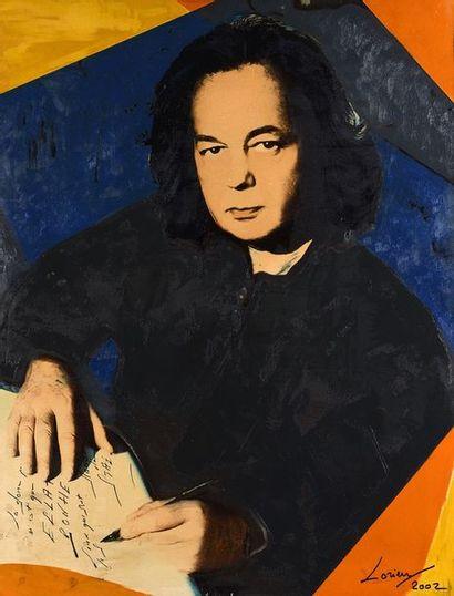 Jean Daniel LORIEUX ( né en 1937)  Portrait...