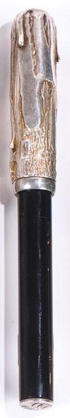 Michel AUDIARD  Stylo plume en argent 925°/°°...