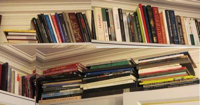 Environ 120 grands volumes modernes (Beaux arts et divers) + Armengaud, Rome