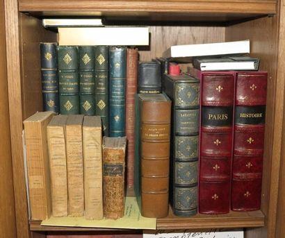 Lot de volumes reliés ou en cartonnage d'éditeur dont Lamartine, Les Harmonies poétique,...