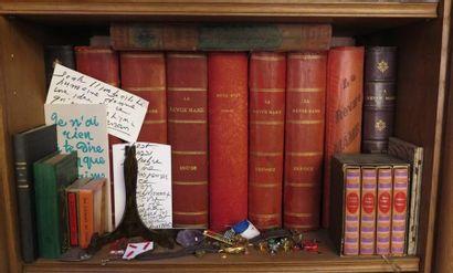 10 volumes in 4 reliés et cartonnage d'éditeur La Revue Mame + 4 petits volumes...