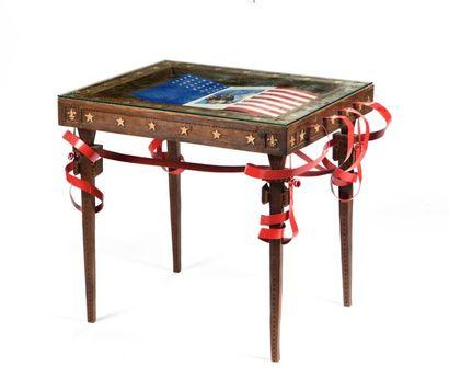 Germain Le Guillou, dit GERMAIN,  Table rectangulaire...