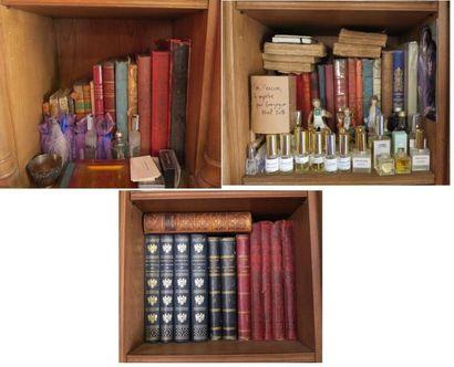Lot d'environ 40 volumes dont:  - volumes reliés et cartonnages d'éditeur 19e dont...