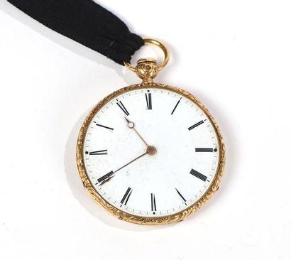 Montre de poche en or (750°/°°) 1819-1838...