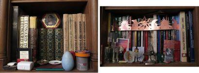 Lot d'environ 40 volumes comprenant :  - grands volumes cartonnés modernes (Léonard...