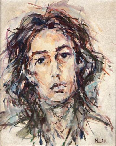 M. LAIR (Actif au XXème siècle)  Portrait...