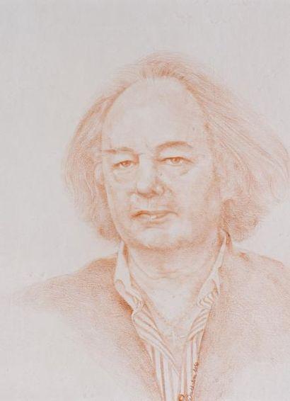 N.BOUKHATEM,  Portrait de Gonzague Saint...