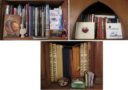 Lot d'environ 60 volumes comprenant  - grands...