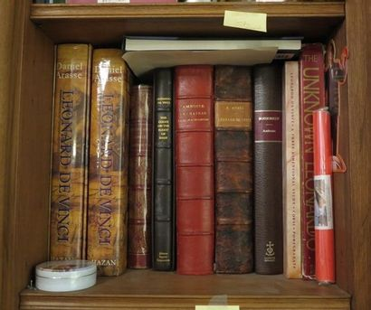 Environ 10 volumes dont Michel Ange, Raphaël,...