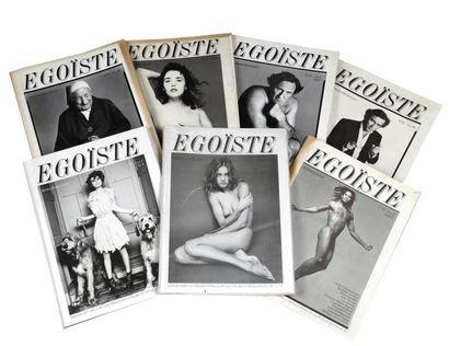 Revue Egoïste, n° 35 (T1 et 2) x3 ; n°15 (T1 et 2) x7 + n°15 (T1) x2 + n°15 (T2)...