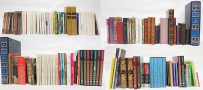 Lot d'environ 130 volumes comprenant:  -...