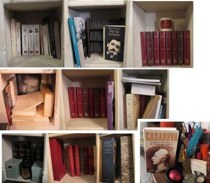 Lot d'environ 80 volumes comprenant :  -...