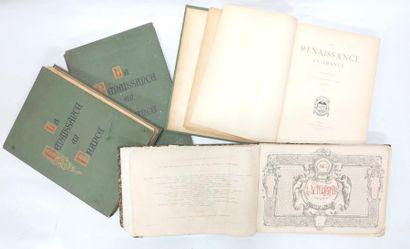 Album l'autographe 1864 + La Renaissance...