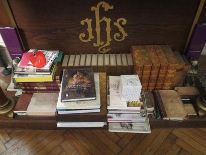 Lot d'environ 40 volumes dont Boccace illustré...