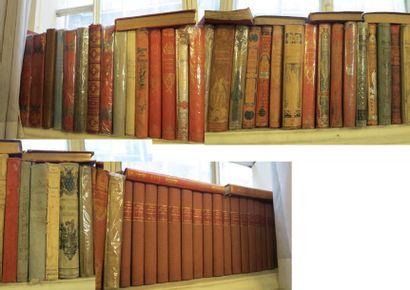 Lot d'environ 45 volumes in-4 XIXe s. des...