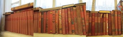 Lot d'environ 55 volumes dont volumes in-4...