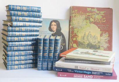 Lot de Volumes traitant de:  - George Sand...