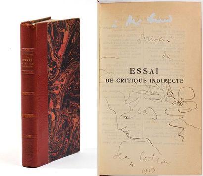 COCTEAU (Jean), Essai de critique indirecte....