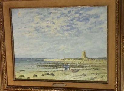 Maurice LEMAITRE (né en 1929)  Marée basse...