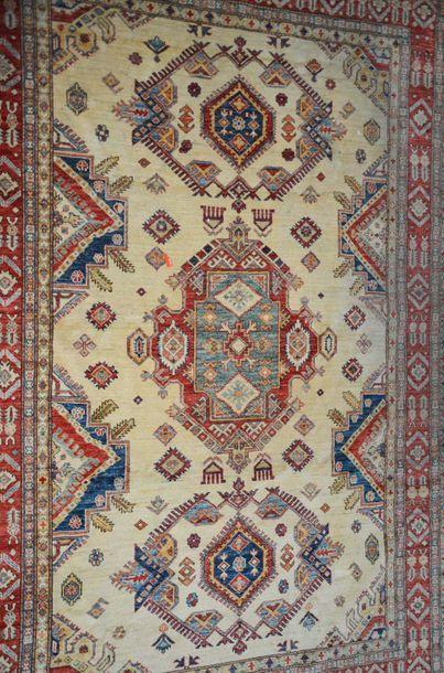 Tapis Shirvan Ouzbekistan  280 x 183 cm