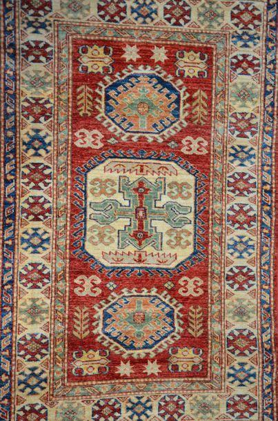 Tapis laine Shirvan Ouzbekistan  146 x 92...